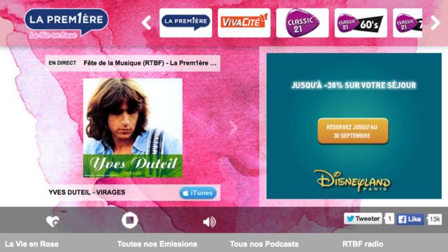 La Prem1ère lance sa première webradio