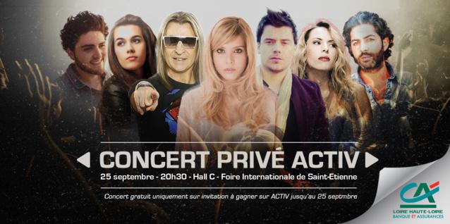 Activ Radio : Jour J pour un Concert Privé et solidaire