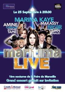 "Maritima organise son ""Maritima Live"" à Marseille"