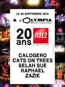 RTL2 à l'Olympia : un concert en 3 dimensions