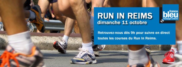 Le Run In Reims sur France Bleu Champagne-Ardenne