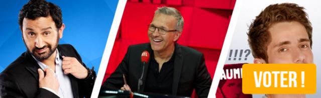 Votez pour les Grands Prix Radio 2.0