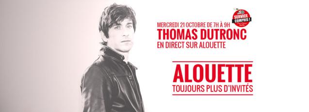 Alouette reçoit Thomas Dutronc