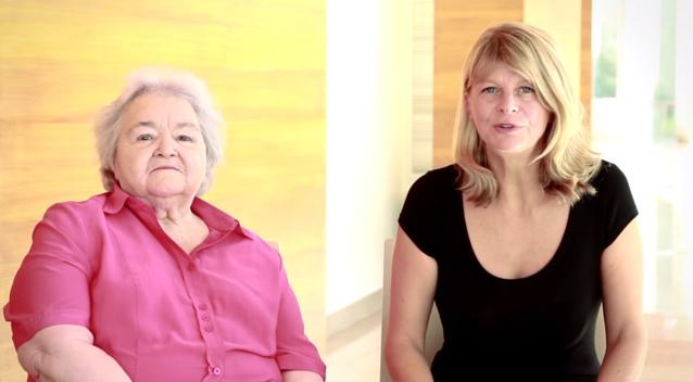 Petit exercice pratique avec Marie-Thérèse et Sonia Kronlund réunies sur YouTube