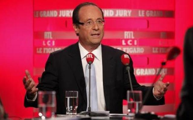 François Hollande sera l'invité de RTL de 7h30 à 8h30 ce lundi matin© RTL / Caroline Doutre / Abacapress
