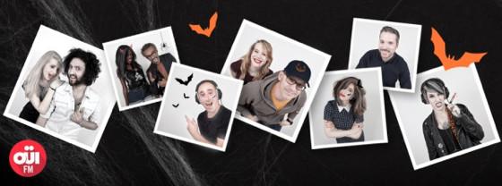 Halloween : Oui FM et ses animateurs démoniaques
