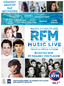 Nouveau RFM Music Live à Montpellier