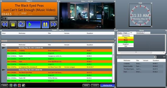 Broadcast-associés et WinMedia unissent leurs compétences pour équiper le studio live du Satis