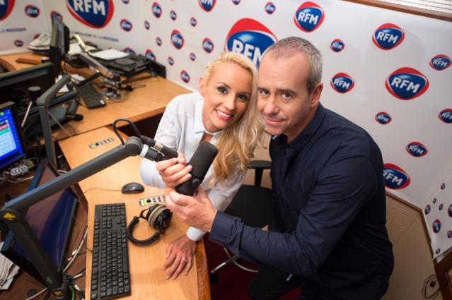 Elodie Gossuin et Bruno Roblès composent, depuis la rentrée, le nouveau duo du Meilleur des Réveils sur RFM © VisionBy AG