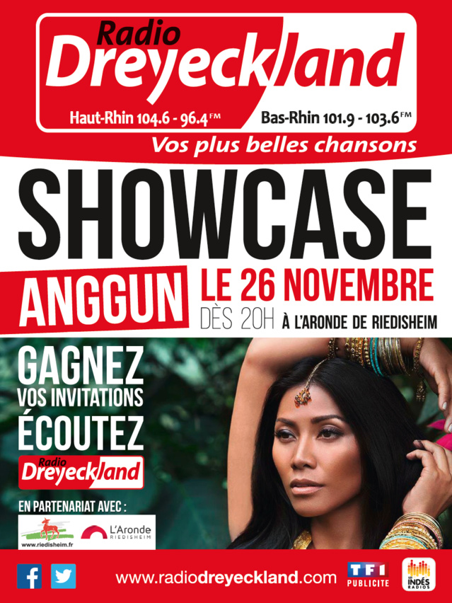 Radio Dreyeckland en showcase avec Anggun