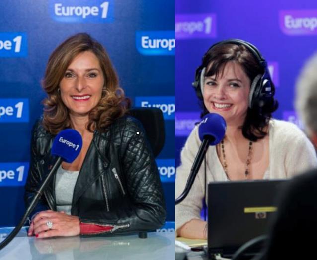 Sophie Peters (à gauche) et Caroline Dublanche (à droite)