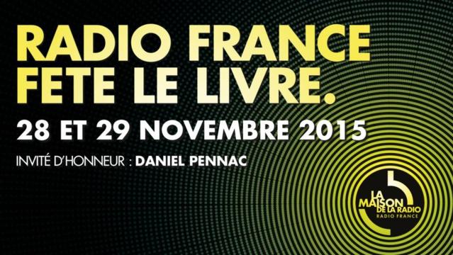 """Report de """"Radio France fête le livre"""""""