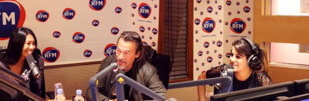 Karine Ferri reçoit Florent Pagny et Anggun