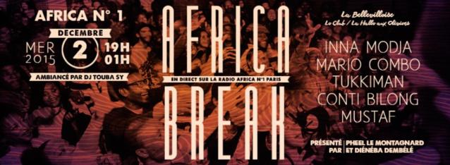 Africa n°1 Paris est diffusée sur 3 fréquences: sur 107.5 (à Paris), sur 92.3 (à Melun) et  sur 87.6 ( à Mantes-la-Jolie). Elle est écoutée chaque jour par 160 000 auditeurs en Ile-de-France