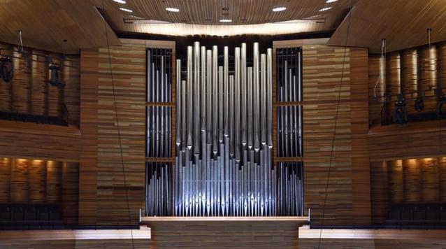 Vue générale de l'orgue de Radio France © Christophe Abramowitz