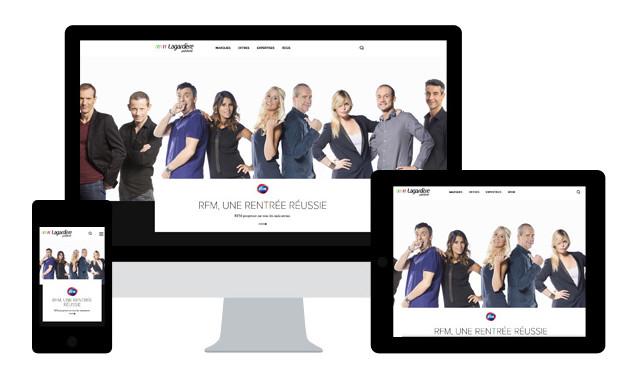 Ce projet a été développé en collaboration avec Newsweb, l'agence éditoriale et digitale de Lagardère Active