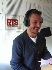 Ghyslain en speak © RTS