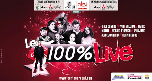 Un 100% Live, le 17 décembre à Albi