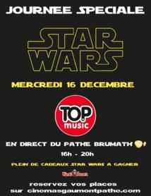 Journée spéciale Star Wars sur Top Music