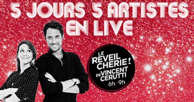 Chérie FM célèbre Noël : 5 jours et 5 artistes