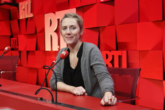 """Maud de Carpentier, une des lauréates du Prix Varenne catégorie """"radio"""" © Frédéric Bukajlo / Abaca Press"""