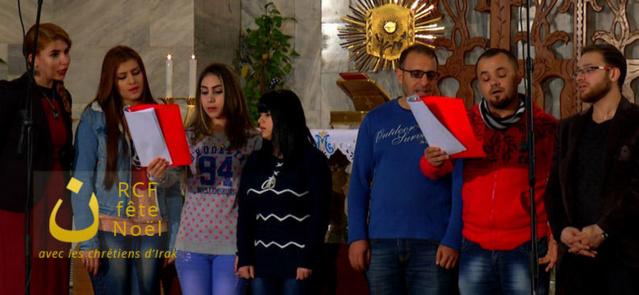 La chorale de la cathédrale de Kirkouk © KTO