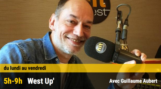 Guillaume Aubert arrive sur Hit West