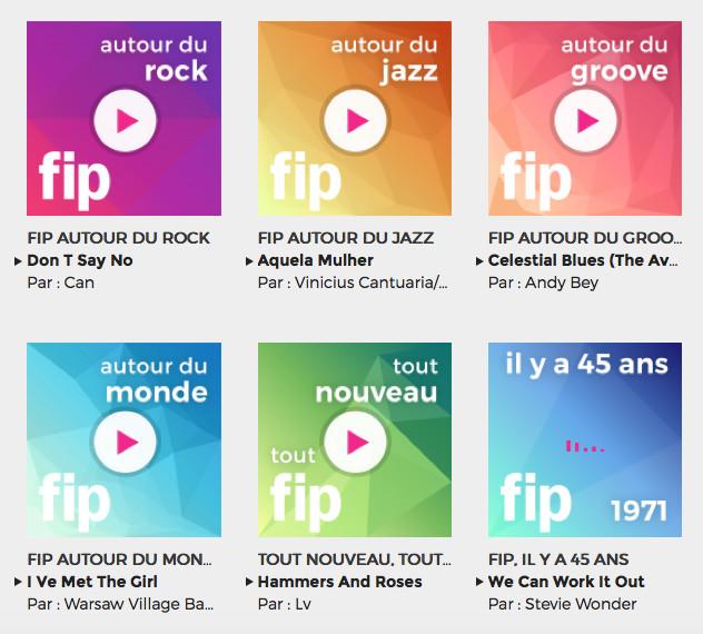 Fip fête ses 45 ans avec 6 nouvelles webradios