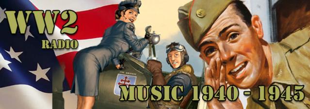 WW2 Radio, la musique des années 40