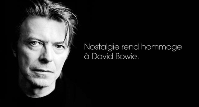 Nostalgie rend hommage à David Bowie