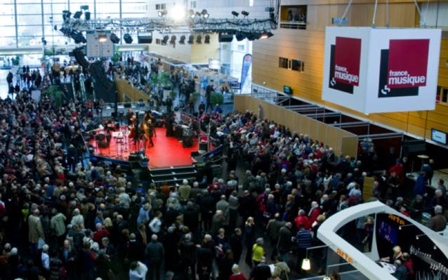 La grande halle de la cité des Congrès en 2015 © Guillaume Decalf / France Musique