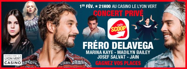Radio Scoop propose un concert privé