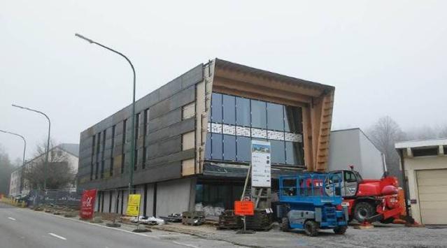 Le chantier actuel du bâtiment qui accueillera aussi les équipes de VivaLuxembourg  © Tous droits réservés