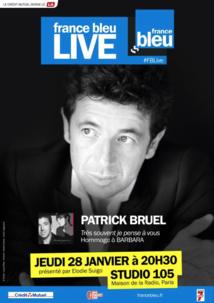 France Bleu Live avec Patrick Bruel