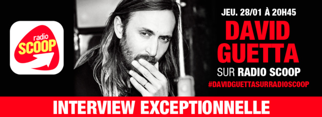 David Guetta sur Radio Scoop