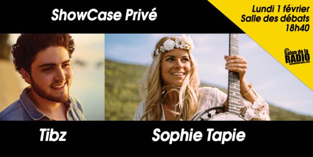 Sophie Tapie et Tibz attendus au Salon de la Radio