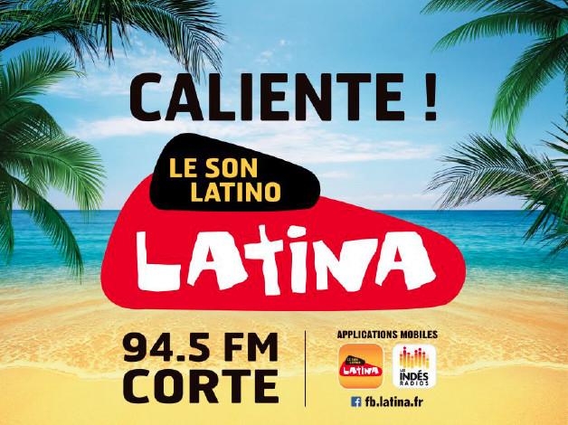 Latina : une nouvelle fréquence en Corse