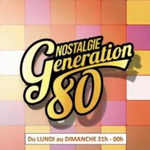 Nouvel horaire pour Nostalgie Génération 80
