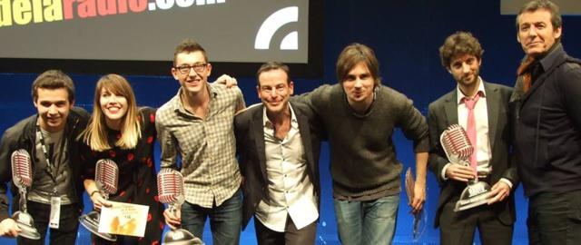 Rémi Castillo et Jean-Luc Reichmann on également fait le show lundi soir au Salon de la Radio