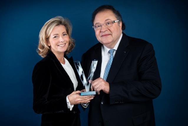 Claire Chazal et Frédéric Lodéon présenteront les Victoires de la Musique Classique © François Roelands FTV