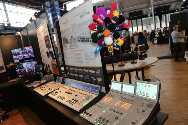 80 exposants ont participé au Salon de la Radio et ont pu rencontrer 4 950 visiteurs durant les trois jours