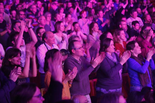 Près de 3 000 personnes étaient invitées par Europe 1 pour ce concert gratuit. Photo : P.Laurent / Capa Pictures / Europe 1