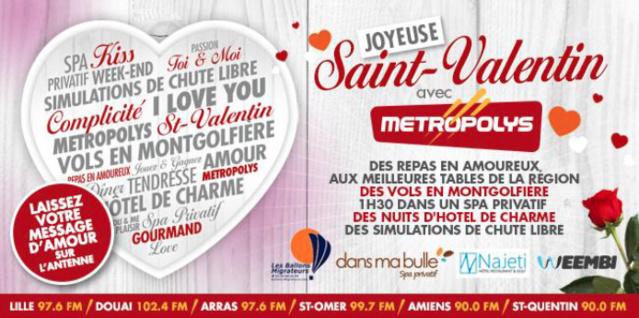Metropolys : les amoureux seront comblés