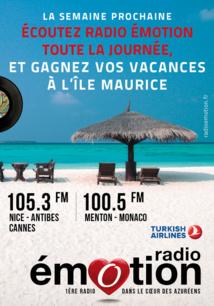 Radio Émotion envoie ses auditeurs sur l'ile Maurice