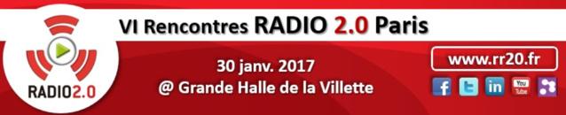 Les Rencontres Radio 2.0 au Salon de la Radio