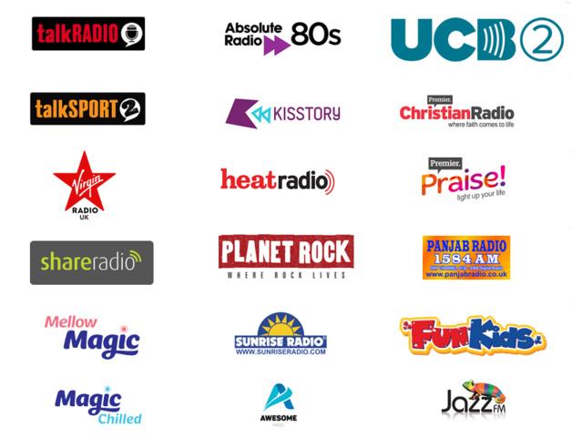 18 nouvelles radios, dont le retour des marques mythiques Virgin Radio et Jazz FM