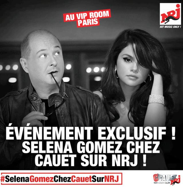 Cauet invite les auditeurs belges à Paris