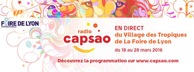 Capsao en direct du Village des Tropiques à Lyon