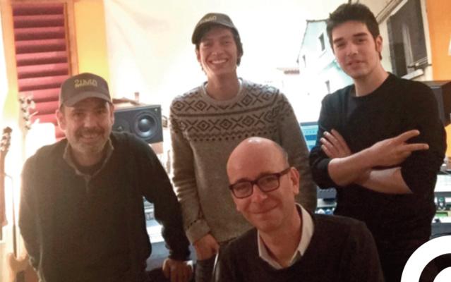 De gauche à droite : Philippe Zech, Raphael Nauleau, Eric Renard, Julien Cavard
