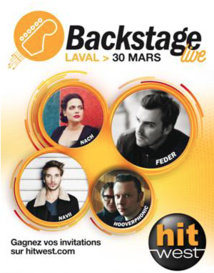 Hit West : un Backstage Live en direct de Laval